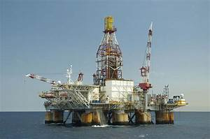 Ocean Oil Rig Photograph by Bradford Martin