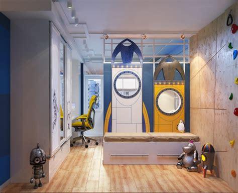 chambre a theme chambre pour enfant sur le thème de l 39 espace