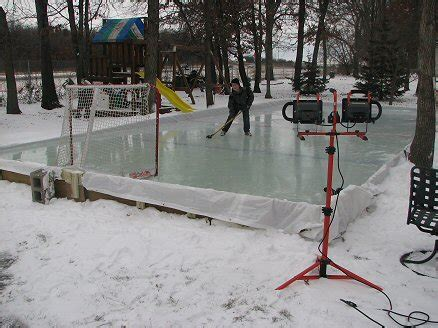 Backyard Rink Tips by Fuls Backyard Rink Howard S Corner Of The Web