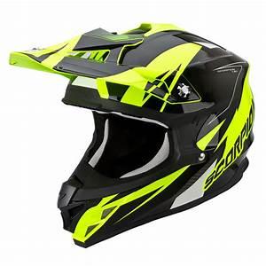Equipement Moto Cross Destockage : casque scorpion krush 2016 vx 15 jaune fluo fx motors ~ Dailycaller-alerts.com Idées de Décoration