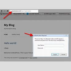Stopping Unauthorized Login Attempts To Wpadmin And Wp