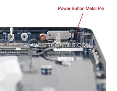 iphone 5 power button repair replacement power button metal pin for iphone 5 iphone 5