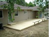 ground level deck plans Photo : 16x16 Deck Plans Images. Deck Plans Stairs Home ...