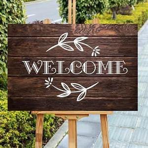 Unique, Wood, Welcome, Sign, Rustic, Party, Decor, Farmhouse, Style, Wedding, Welcome, Sign, Timber, Welcome
