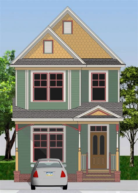 shea terrace  victorian painted lady gmf architects house plans gmf architects