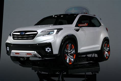 crossover cars 2018 subaru s new 3 row crossover that replaces tribeca is