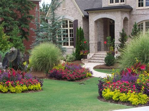 front yard landscape design tuscan style decorative pillows landscaping ideas for