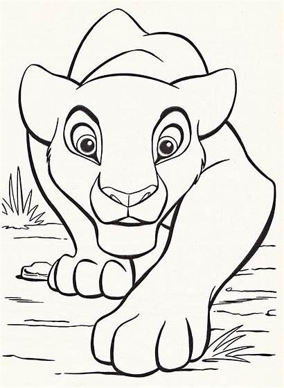 Disney Coloring Characters Pages Walt Nala Fanpop