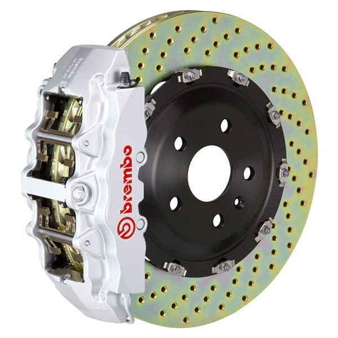 brembo gt 345mm silver big brake kit for g550 gwagenparts mercedes g class parts