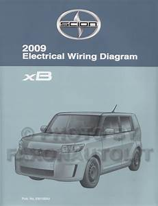 2009 Scion Xb Wiring Diagram Manual Original