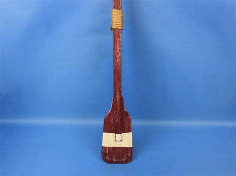 buy wooden chadwick decorative squared rowing boat oar w hooks 24 inch