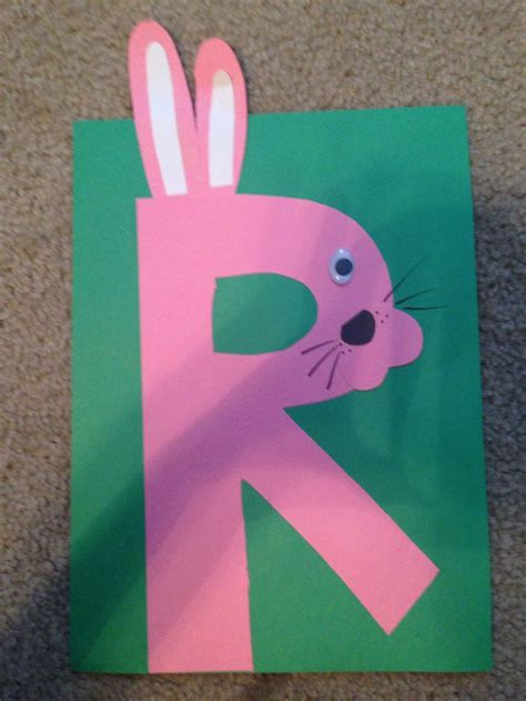 r is for rabbit my preschool alphabet crafts 970 | ed8815ed20d89edfeee3abc43c5b34aa