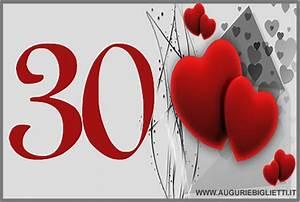 Auguri Per I 30 AnniBiglietti Di Auguri Per I Trentenni
