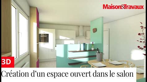 cr馥r une chambre dans un salon cr 233 er un espace ouvert cuisine salon salle 224 manger dans