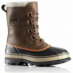 Sorel Caribou Wool Mens Winter Boot in Olive