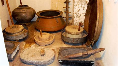 History Of Kitchen In India by Traditional Indian Cookware Photo By Hansen