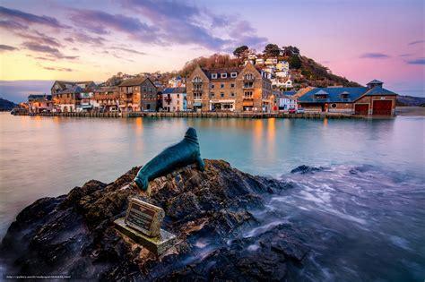 Tlcharger Fond D'ecran Nelson Le Sceau, Looe, Cornwall, Angleterre Fonds D'ecran Gratuits Pour