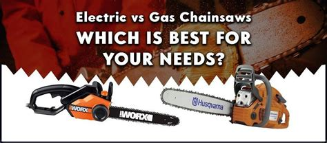 electric  gas chainsaws power price features