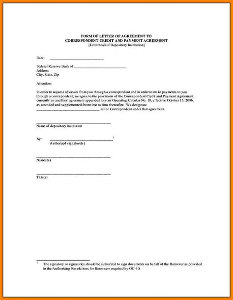 6 payment contract template free invoice letter
