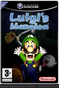 Luigi39s Mansion GameCube Box Art Cover By Super Mega Hyper