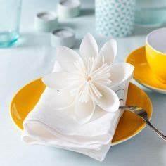 Papierblumen Aus Servietten : origami ideen zum selberfalten hochzeit pinterest ~ Yasmunasinghe.com Haus und Dekorationen