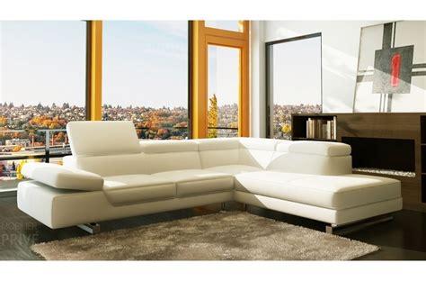 canape cuir italien luxe canapé d 39 angle georgio en cuir haut de gamme italien