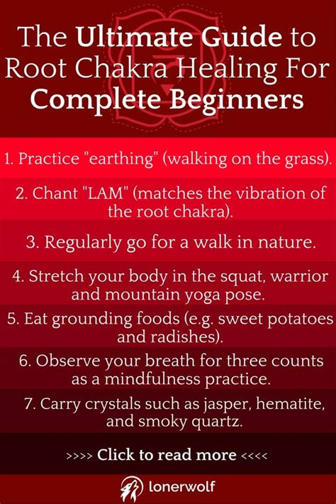 The Ultimate Guide To Root Chakra Healing For Complete