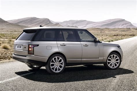 Land Rover Officially Reveals 2013 Range Rover Suv Sheds