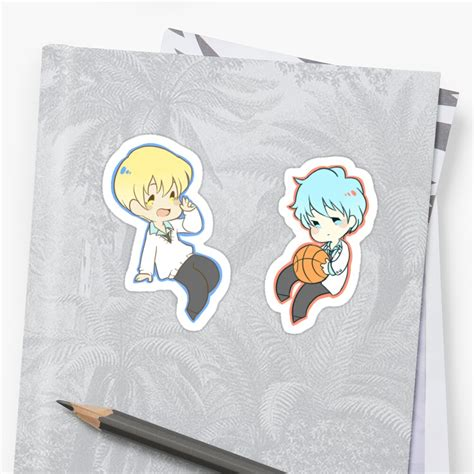 kuroko no basuke kuroko tetsuya kise ryouta sticker by