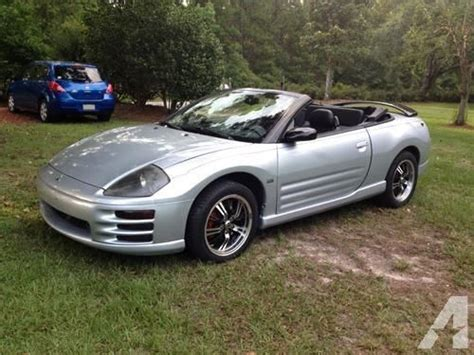 2002 Mitsubishi Eclipse Gt For Sale by 2002 Mitsubishi Eclipse Spyder Gt For Sale In Lamont