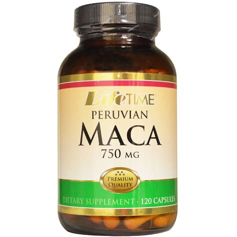 Life Time, Peruvian Maca, 750 mg, 120 Capsules