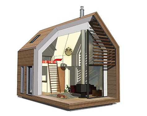 living in a shed shed living small practical prefab living space