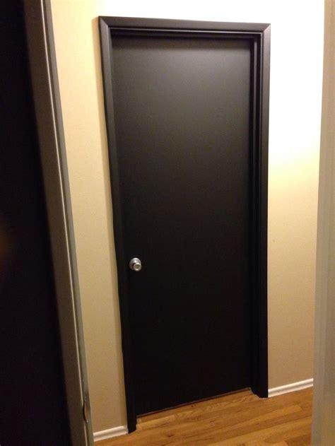 satin black vinyl door wrap at www rmwraps door