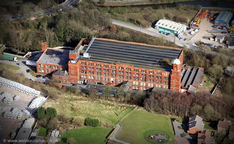 Cowling Mill Chorley from the air | aerial photographs of ...