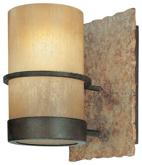troy csl lighting b1841bb bamboo 1 light bathroom vanity
