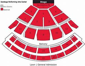 Spac Guide  Saratoga Performing Arts Center Schedule  Seating Chart  More