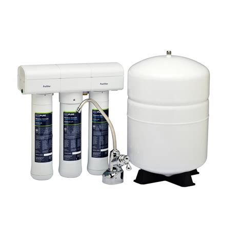 lead free kitchen faucets ecopure osmosis water filter system
