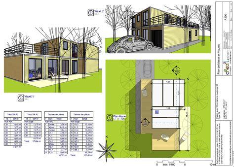 plan maison moderne 5 chambres plan de maison moderne gratuit pdf plan de maison moderne