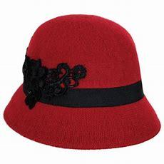 Betmar Mindenhall Wool Cloche Hat Cloche & Flapper Hats