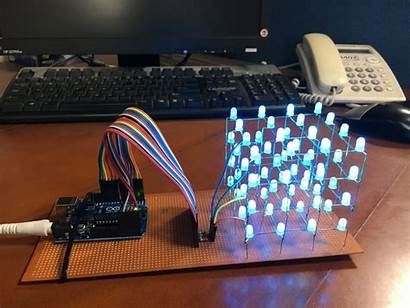 Arduino Led Projects Cube Uno Project Tutorial45