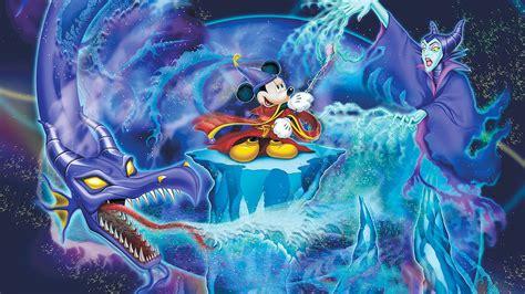 Mickey Mouse Cartoons Battle Against Evil Fine Art Walt