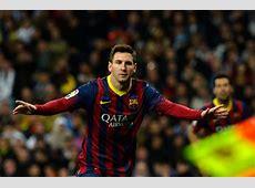 Messi hat trick breaks scoring record in Spain
