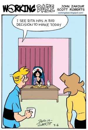 management cartoons  decision making related topics