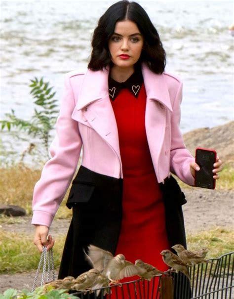 Katy Keene Lucy Hale Long Coat | Lucy Hale Long Coat ...