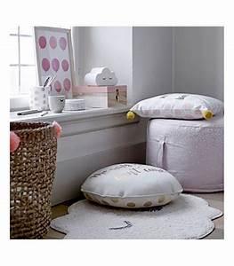 Chambre Enfant Blanc : tapis chambre enfant nuage blanc ~ Teatrodelosmanantiales.com Idées de Décoration