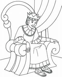 David Becomes King Coloring Page AZ Coloring Pages