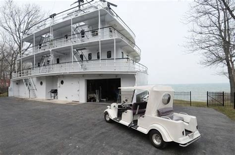 Old Boat Turned Into House by Homes Built Inside Old Ships Others