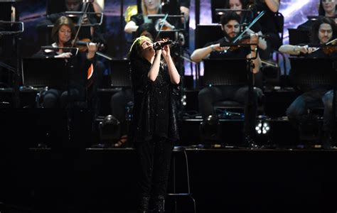 Fans left stunned by Billie Eilish's BRITs performance of ...