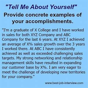 Sample Job Thank You Letter Tell Me About Yourself The Right Answer Job Interview