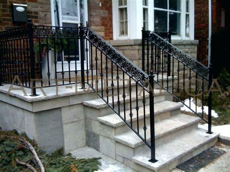 Outdoor Railings Stairs Exceptional Wrought Iron Stair